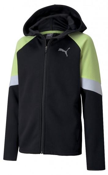Puma Active Sports Full-Zip Hoo Kinder Hoodie PUMA BLACK