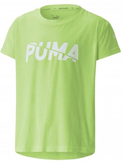 Puma Modern Sports Logo Tee G SHARP GREEN Mädchen T-Shirt