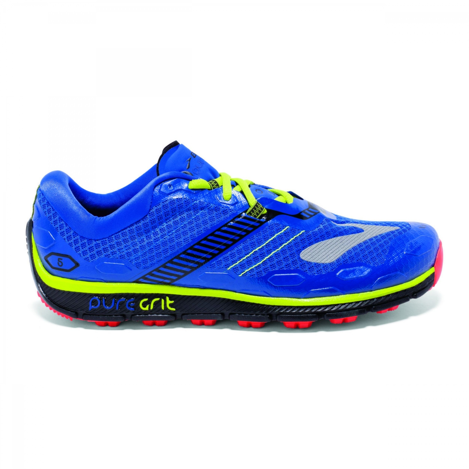 29380d1a886bb1 Brooks PureGrit 5 Azure Blue Palace Blue Lime Punch günstig online ...