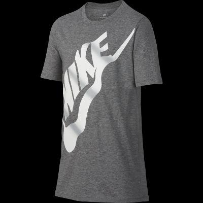 Nike B NSW TEE WAVY FUTURA COOL GREY WHITE-WOLF GREY günstig online ... af64f0ab2f4