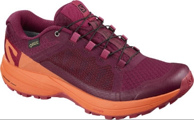 Salomon XA ELEVATE GTX W BEET REDNASTURTIUM.VIRTUAL PINK